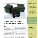 Greenhouse Management Article on Propogation Using Anderson Bands and Anderson Flats