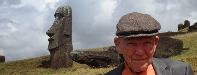 George Anderson Visits Easter Island